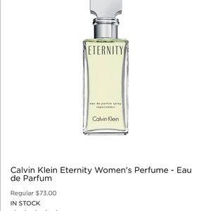 CALVIN KLEIN ETERNITY for WOMEN